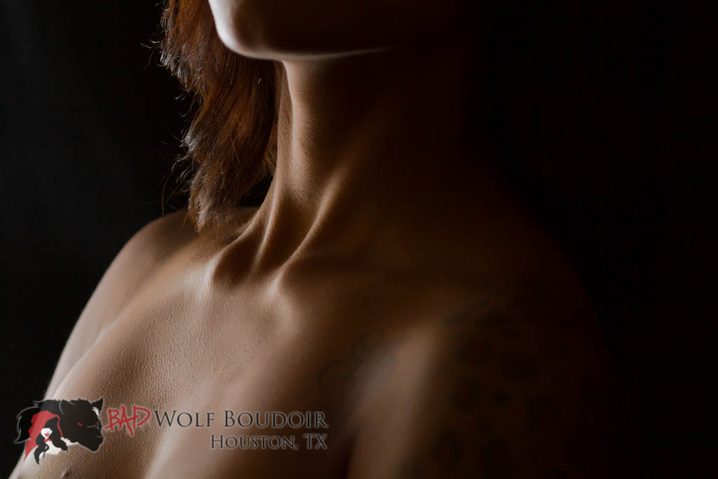 Décolletage photo by Bad Wolf Boudoir in Houston, TX